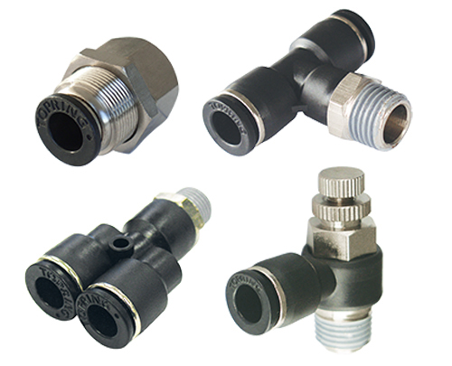 S44-46 MAXFIT Polymer Push-to-Connect Fittings