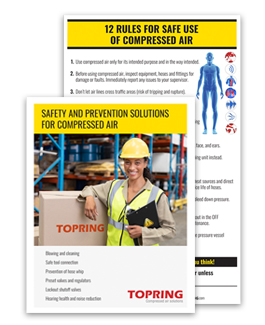 Compressed air safety and prevention