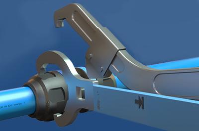 raccord tube aluminium