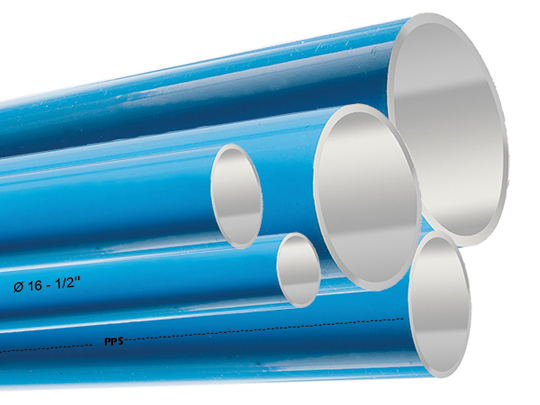 Topring PPS aluminium pipes